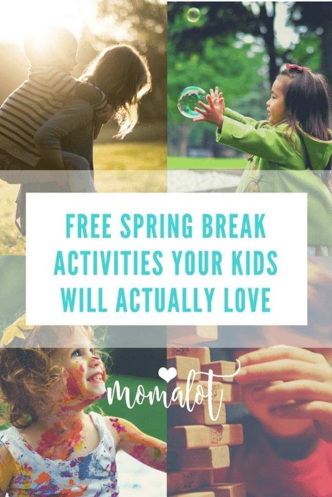 Free spring break activities your kids will actually love