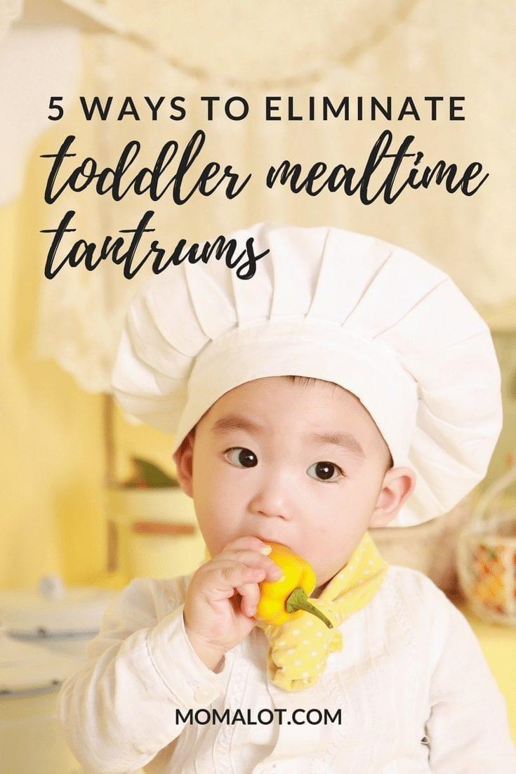 5 Techniques to Prevent Toddler Mealtime Tantrums-min