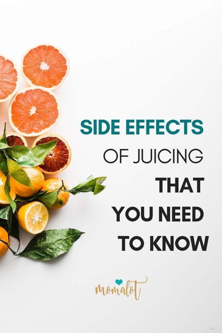 When I first started juicing I had no idea the side effects that happen to nearly everyone!! I was surprised at how awful I felt and how little I really knew about what I was getting into.... I soon discovered