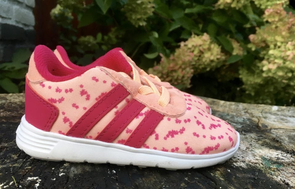 Matching vader en dochter sneakers