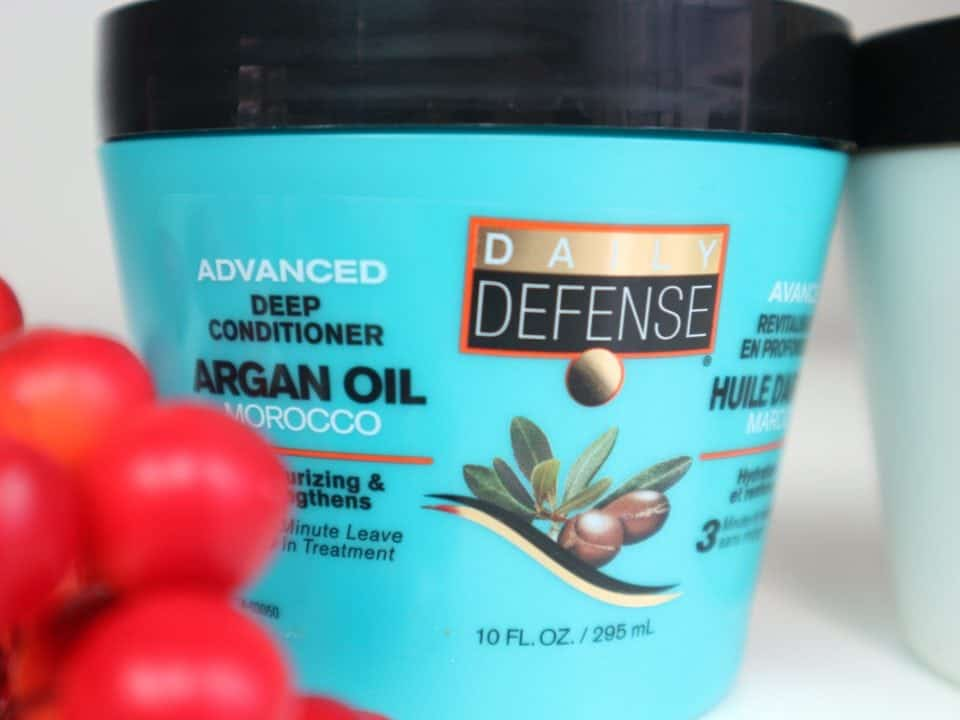 Daily Defense Advanced Deep Conditioner, Daily Defense haarmaskers action