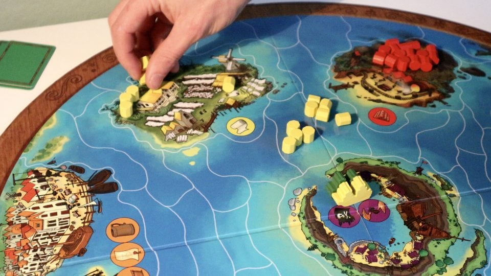 Captains of the Golden age review strategisch bordspel