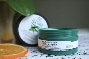 The Body Shop Tea tree masker review momambition