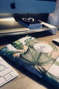 bullet journal botanical thuiswerk tag