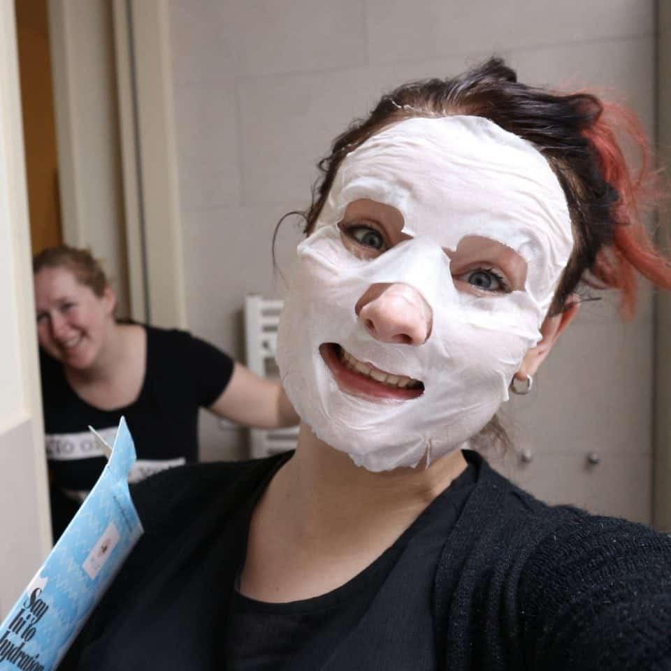Mask MOnday Nieuwe liefde : eye patches en (sheet) maskers van MILU Cosmetics Momambition.nl