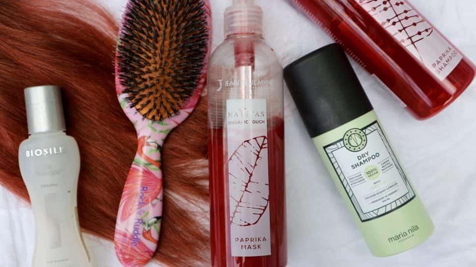 Haarroutine voor een Red Head : (gekleurd) rood haar onderhouden momambition.nl