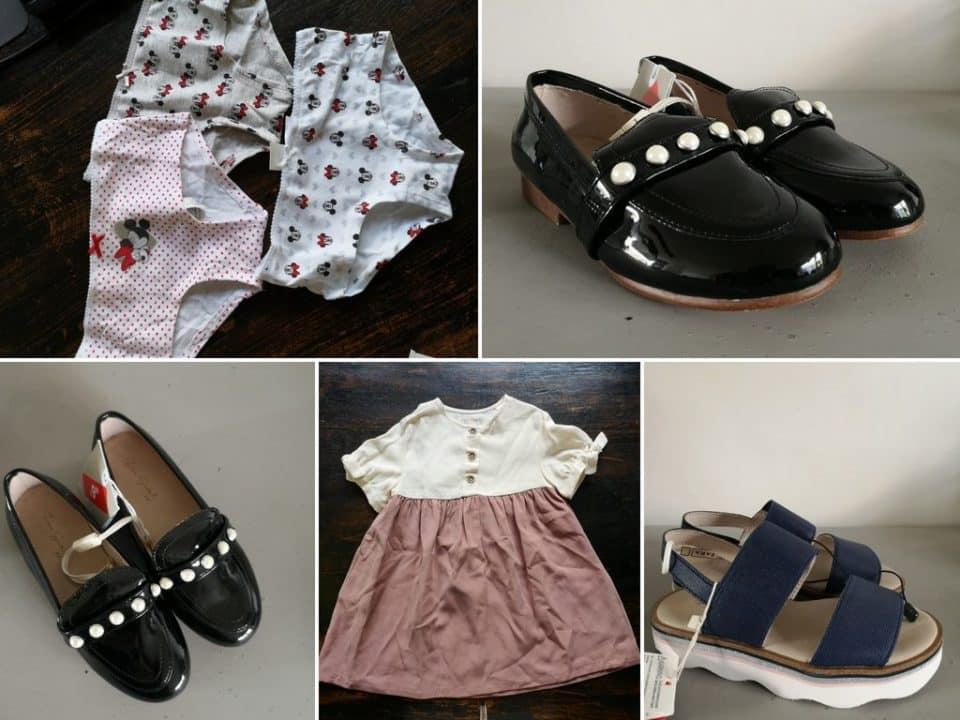 Shoplog: Zomerse garderobe in maat 104 voor Leia Momambition.nl ZARA kids