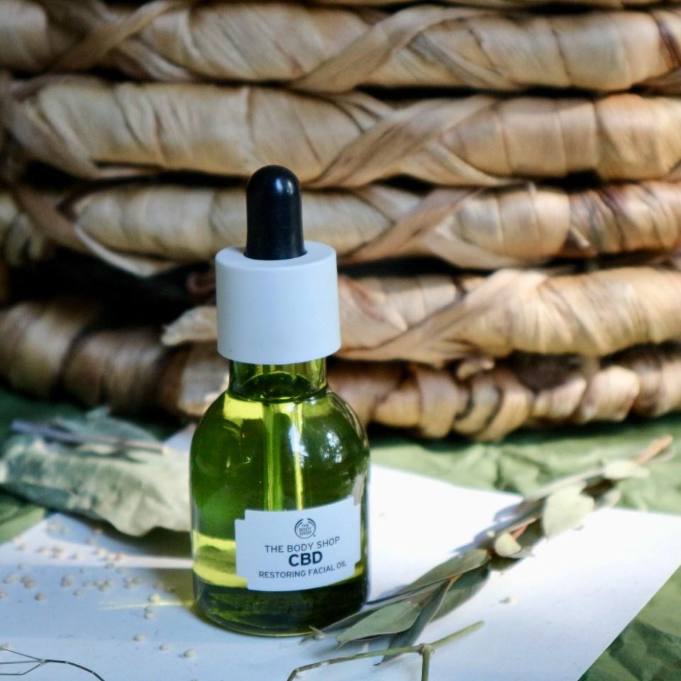 The Body Shop CBD Restoring Facial Oil review