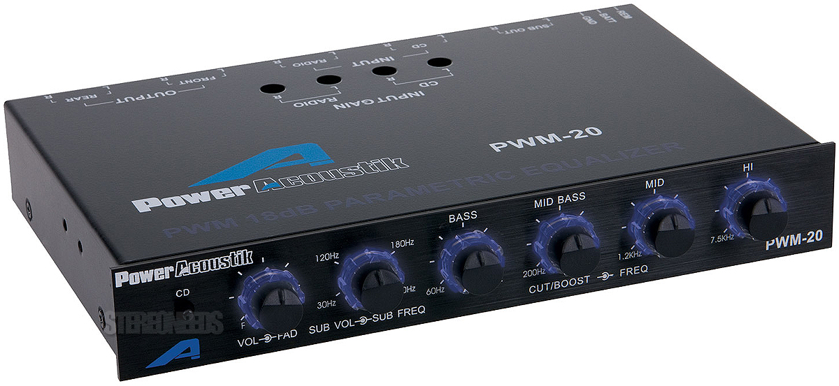 Parametric And Sub Woofer Equaliser