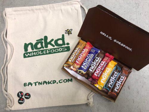 nakd bars giveaway