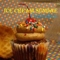Ice Cream Sundae Cupcakes