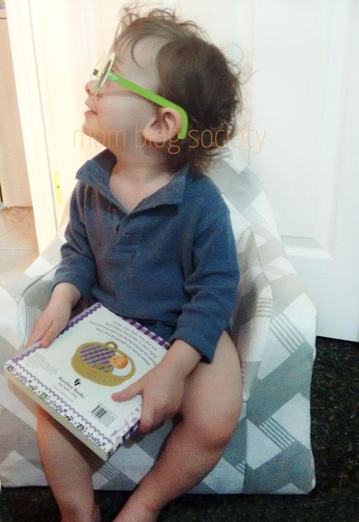 P'kolino Little Reader Toddler Chair