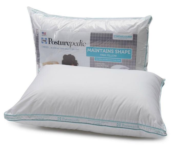 sealy posturepedic pillows keep their