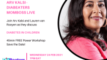 ARV KALSI –DIABEATERS MAGAZINE & SUPPORT GROUP  MOMBOSS FACEBOOK LIVE