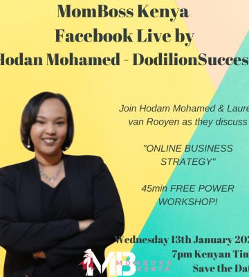 HODAN MOHAMED – DODILION SUCCESS  MOMBOSS FACEBOOK LIVE
