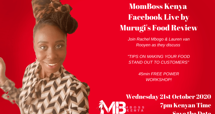 MURUGI'S FOOD REVIEW MOMBOSS FACEBOOK LIVE