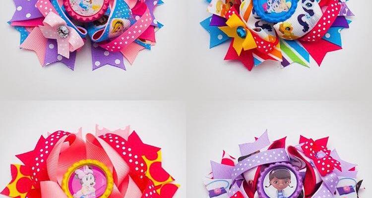 Themed Party Hair Bows