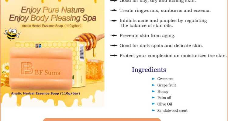 Anatic Herbal Essence Soap.