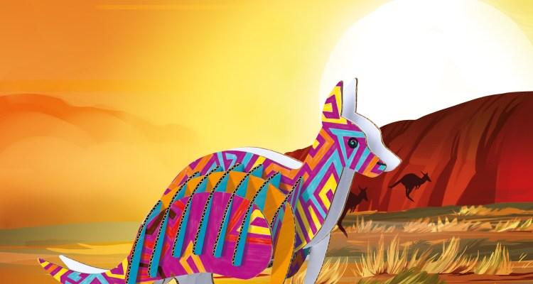Carioca – Create & Colour – Elephant / Giraffe / Kangaroo