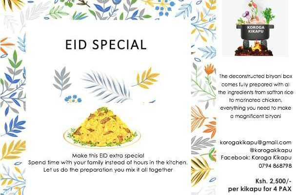 Eid special hurry while stocks last