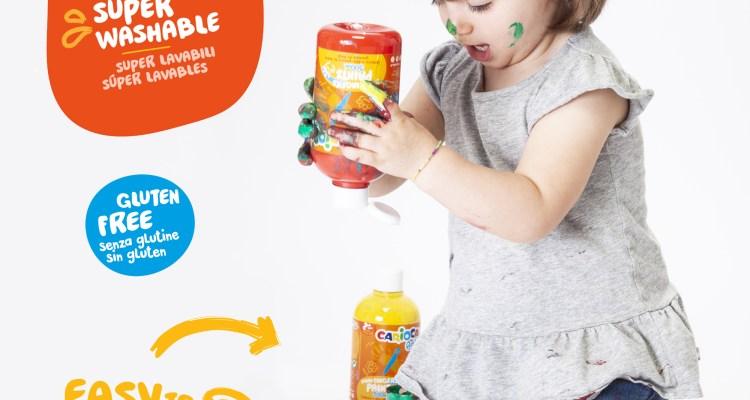 Carioca Baby Finger Paint 500 ML