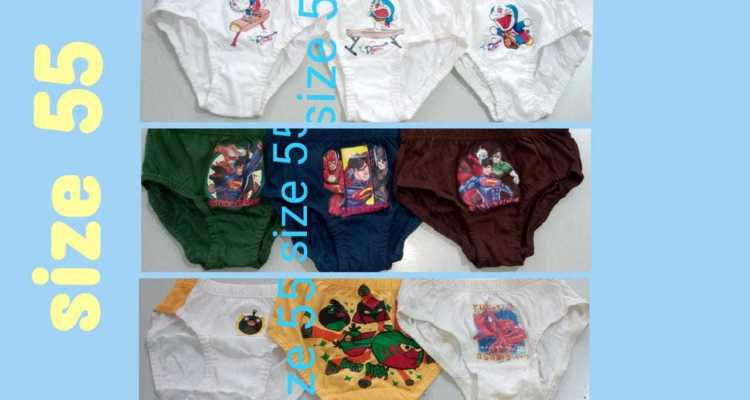 Underwear for boys