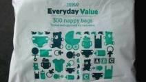 Tesco Nappy Bags 300