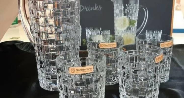 Nachtmann Fine Bavarian Crystal – Bossa Nova Pitcher set 5 pieces