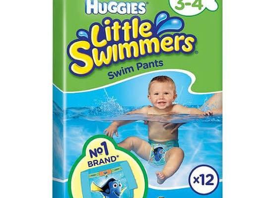 Huggies Little Swimmers Swim Pants Size 3-4 (7-15kg) – 12 Pairs