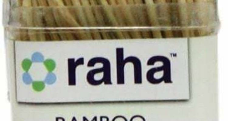 Raha Bamboo Tooth Picks 300s
