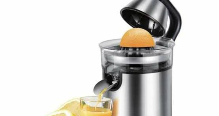 Sonifer 300W Lemon Citrus Juicer In Blender Stainless Steel Hand Pressed