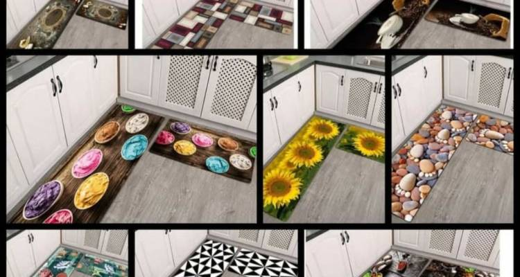 3D kitchen mats now available set of 2