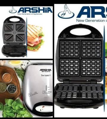 Arshia 3 In 1 Sandwich Maker