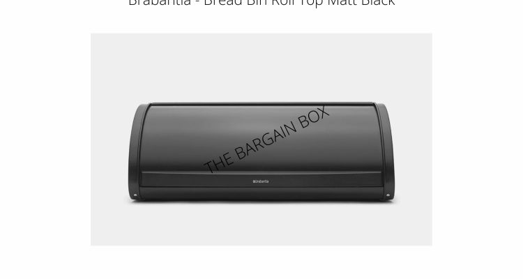 Brabantia Roll Top Bread Bins