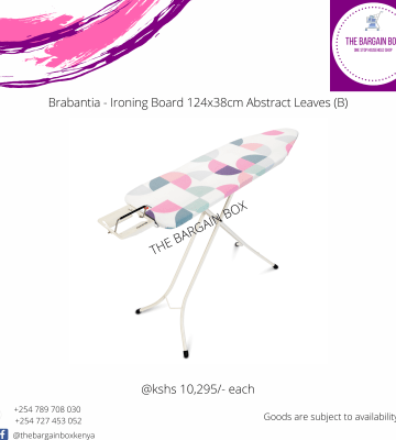 Brabantia – Ironing Board 124x38cm Abstract Leaves ( B )