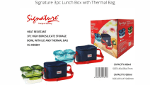 Signature 3pc Lunch box with thermal bag