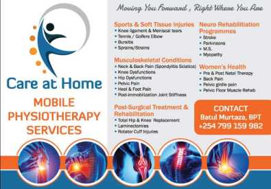 Care@home mobile physiotherapy services
