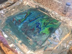 Acrylic pour finished 4