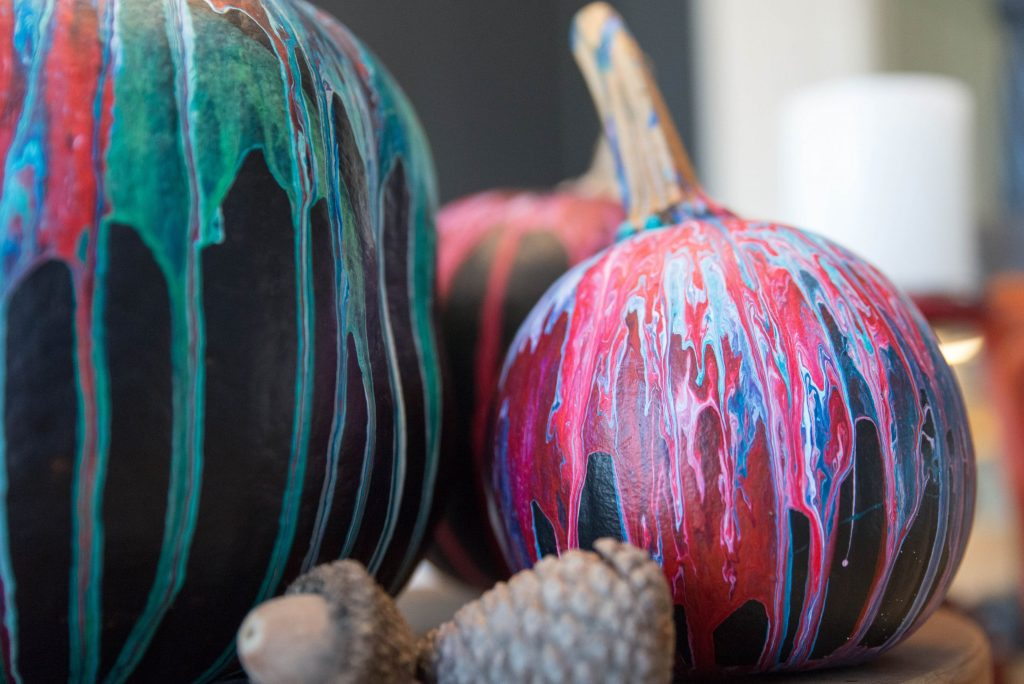 Fun Pumpkin Painting Idea