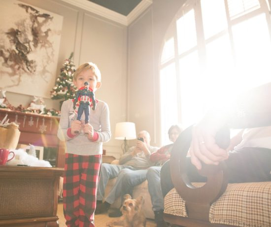 Photographing Christmas Morning