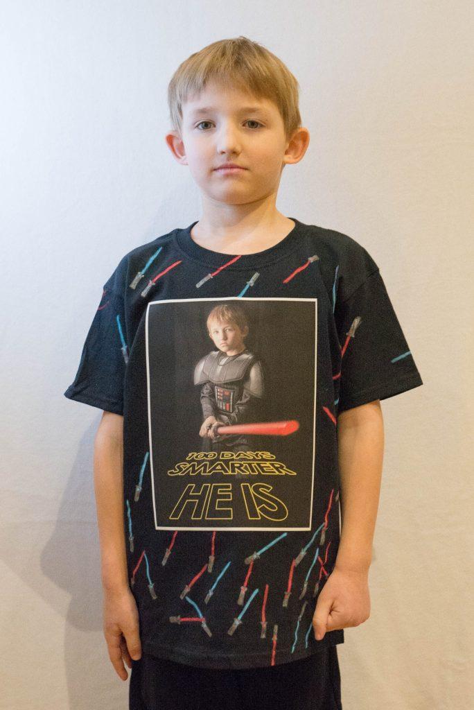 100 Days of School T-Shirt Idea