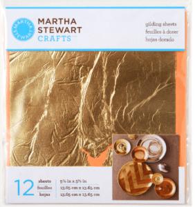 Martha Stewart Gold Leaf