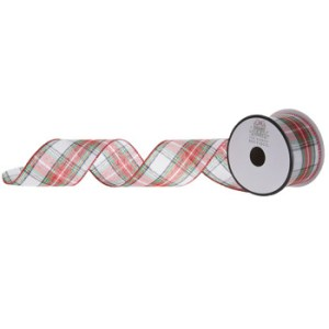 Red and White plaid wired ribbon_HobbyLobby_MomCanDoAnything_recommendations