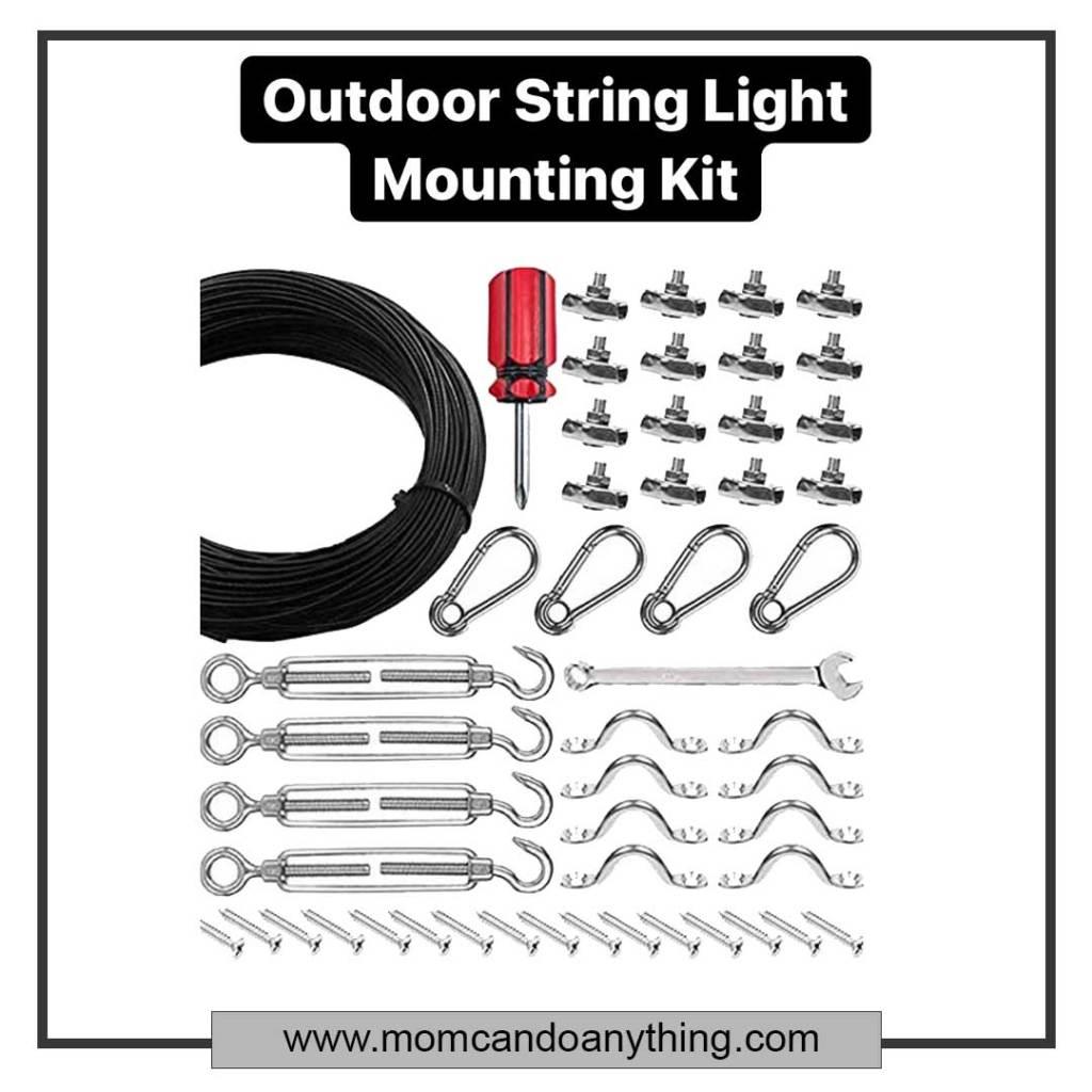 outdoor light hanging kit