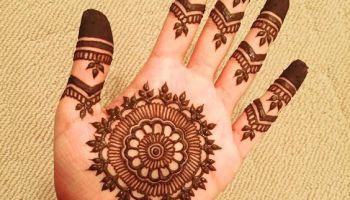 Floral Arabic Mehndi On Back Hand Floral Arabic Mehndi Designs