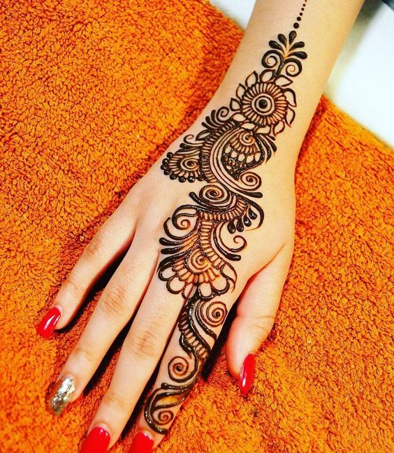 Arabic Mehndi Design 2019 Back Hand
