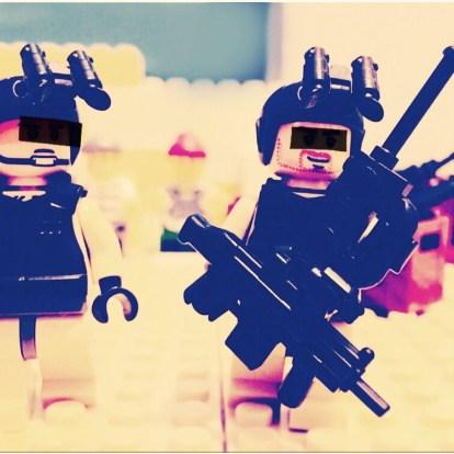 特殊部隊の隊員たち