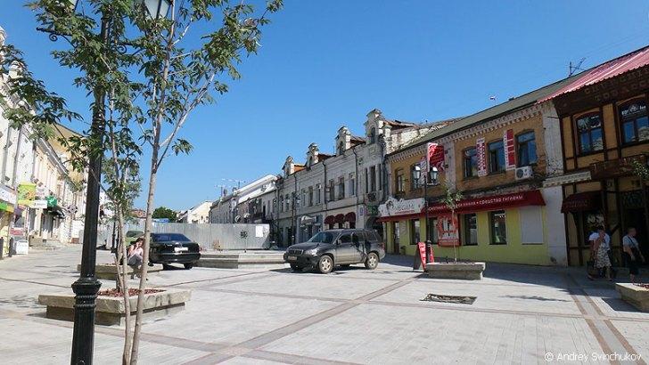 アドミラル・フォーキン通り(噴水通り)