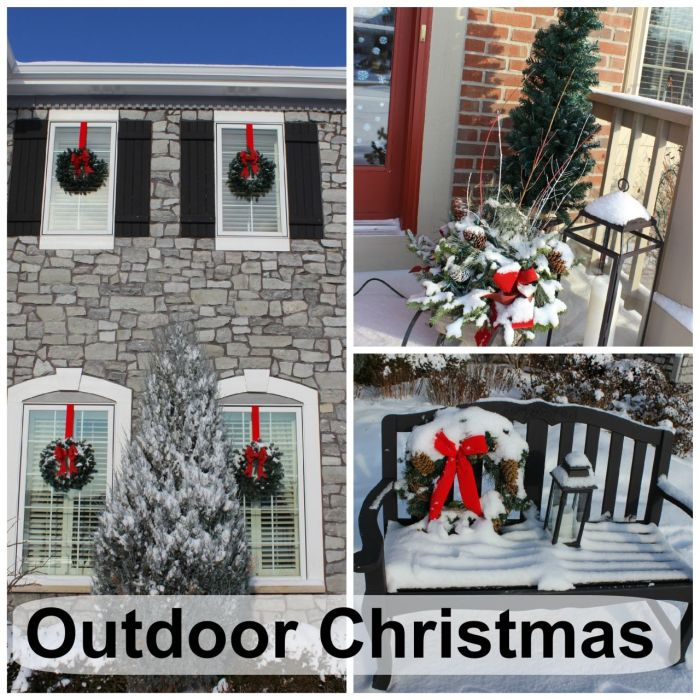 Outdoor Christmas