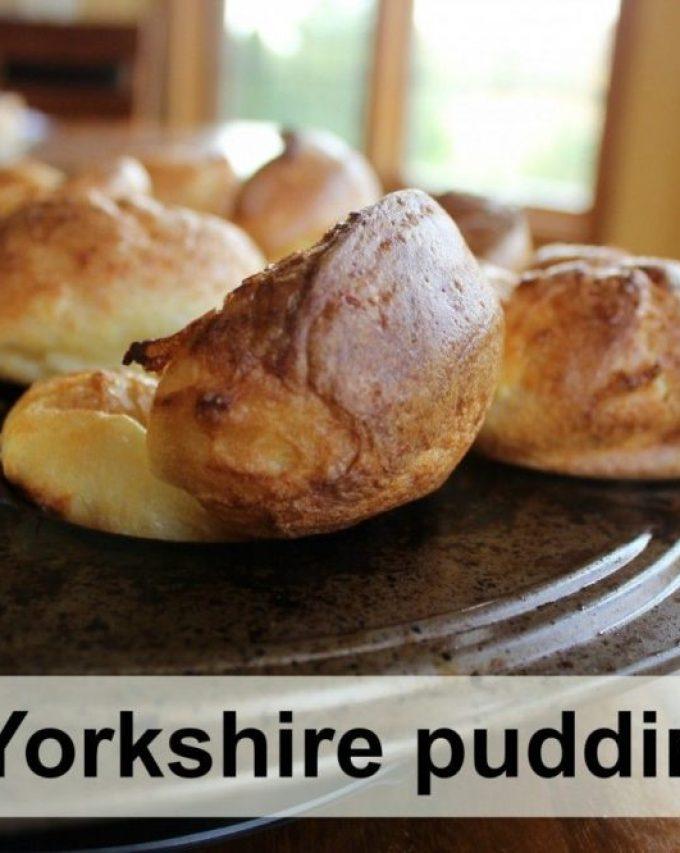Yorkshire pudding (aka popovers)